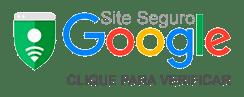 Selo de Segurança do google para Centro Saúde Site